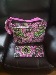 Vera Bradley Crossbody Baby Bag Pink Medley