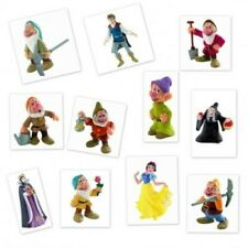 Bullyland Disney Blancanieves Enanos Príncipe la Bruja Figura de Colección Nuevo
