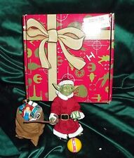 "star wars sideshow 12"" 1/6 scale special edition christmas holiday yoda as santa"