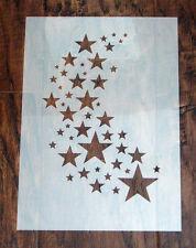 Maschera STAR Stencil Riutilizzabile Mylar Foglio per Arts & Crafts