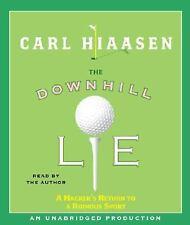 The Downhill Lie A Hacker's Return toa Ruinous Sport by Carl Hiaasen Autographed