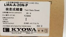 **NEW** KYOWA LMA-A20N-P Small-sized Compression Load Cell 20N