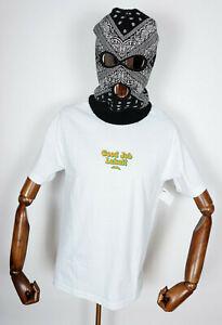 Lakai Skate Skateboard Shoes shoes Footwear t-shirt Tee Good Job white IN M