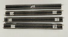 Hornby & Peco Equivalent Nickel Silver R601 Double Straight Track 00 Gauge X19