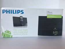 Philips Docking Station for Android, Bluetooth, FM Presets & Clock