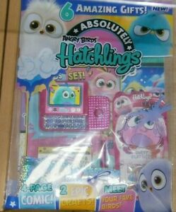 Absolutely magazine #1 2021 Angry Birds Hatchlings + Stickers & Friends set