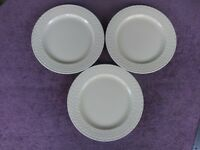"Wedgwood STONE HARBOR SAND Salad Plate 1914236 9 5/8"" Set of 3"