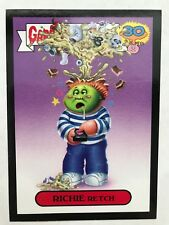 Garbage Pail Kids 2015 Series 2 30th #2a RICHIE RETCH Don't Push My Button BLACK