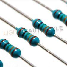 100x 470 OHM 0.25 1/4 WATT RESISTORS - LED'S LED RESISTOR USAGE
