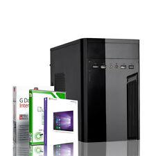Komplett PC Intel Quad Core 4x2.42GHz 4GB 320GB Windows 10 Pro Maus Tastatur NEU