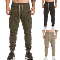Men Fashion Trousers Harem Sweatpants Slacks Casual Jogger Dance Sportwear Baggy