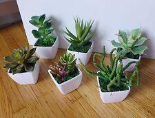 Small Potted Artificial Mini Plants Home Wedding Decor