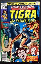 Marvel Premiere (1972) 42 FN/VF (7.0) featuring Tigra