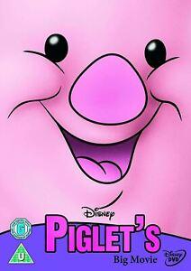 WINNIE THE POOH Piglet's Big Movie (2003) Region 4 [DVD] Disney Piglets