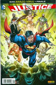 Comic - Justice League #41 DC-Comics JLA Superman November 2015 Panini