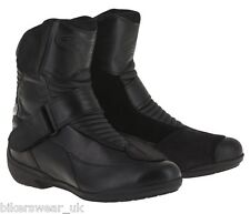 Alpinestars Stella Valencia Ladies/women Motorcycle WP Short Ankle Boots