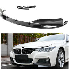Carbon Fiber Front Spoiler Splitter For 2012 2013-2018 BMW F30 3-Series M Style