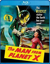 PRE ORDER: MAN FROM PLANET X / (WS) - BLU RAY - Region A