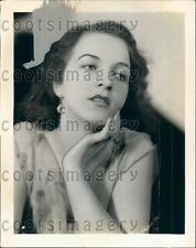 1933 Pretty 1930s Radio Singer Claire Willis Press Photo
