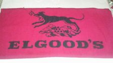 Vintage Elgood's Bar Towel
