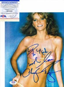 Cheryl Tiegs Supermodel Signed Autograph 8x10 Photo PSA/DNA COA #6