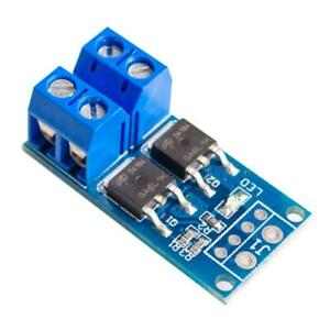 Dual MOSFET Driver 3.3-20V trigger, 15A 400W out Board Module MOS FET Switch PWM