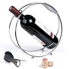 Weinablagen aus Edelstahl mit 1 9