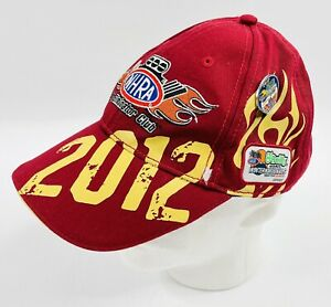 2012 NHRA Top Eliminator Club Hat Members Only With Pin (Pomona California)