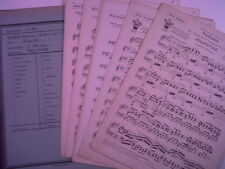 salon orchestra parts TSCHAIKOWSKI L. WENINGER Jolante