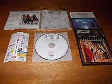 IMPELLITTERI-EYE OF THE HURRICANE 1997 CD JAPAN OBI VICTOR VICP-60167 STICKERS