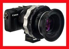 @ PRO Adapter CANON EF-M Mount M M2 -> LOMO OCT19 Lens Anamorphic w/ TRIPOD @
