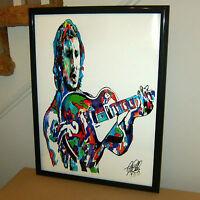 Pete Townshend The Who Guitar Hard Rock Guitar Music Poster Print Wall Art 18x24