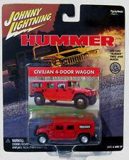 JOHNNY LIGHTNING HUMMER CIVILIAN 4-DOOR WAGON RED HUMMER rr