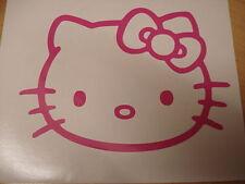 Rosa Hello Kitty Vinilo Coche Calcomanía Pegatinas
