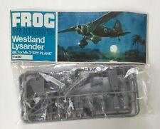 "Aviation - Vintage Frog ""Westland Lysander"" Model Aeroplane Kit 1/72"