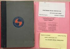 Ra118 Vintage Lot 1942 Colcord-Wright Machinery & Supply Co Catalog St.Louis Mo