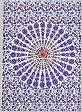 INDIAN WALL HANGING TAPESTRY MANDALA HIPPIE TAPESTRIES BOHEMIAN BEACH THROW MAT