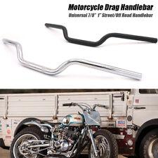 "Universal 1'' 7/8""Motorcycle Handlebar Pullback Drag Bar For Harley Honda Suzuki"