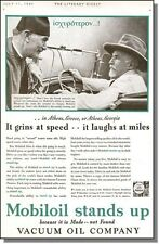 1931 It's Made Not Found - Mobil Oil Ad