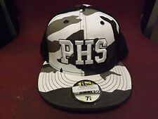 """PHS """"WAVE"""" CAMO FITTED HAT SIZE 7 5/8"""