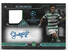 GELSON MARTINS 2017-18 TOPPS MUSEUM COLLECTION RELICS AUTO #/60 SPORTING