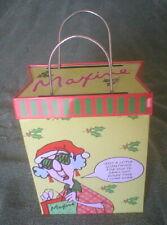 Maxine Hallmark – Metal Shopping Bag
