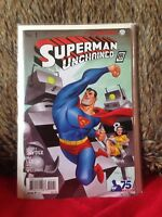 SUPERMAN UNCHAINED # 1 VARIANT EDITION 1 in 100 DC  COMICS