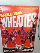 Michael Jordan Original Vintage Sports Cereal Boxes