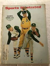 1967 Sports Illustrated KANSAS CITY Athletics A's Star Ace JIM NASH Young ACE