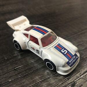 1977 Tomy Tomica White Porsche Turbo No.F31 White 1/61 Japan Made