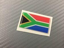 Adesivo Bandiera 3D Resinata SUD AFRICA 45 x 25 mm.