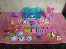 FROZEN , MINNIE MOUSE , SQUINKIES  TOTAL OF  34 Miscellaneous Character Toys