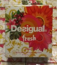 Desigual Fresh by Disigual EDT Spray 3.4 oz woman's perfume NIB