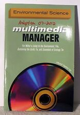 Environmental Science Multimedia Manager Miller's   14th Edition plus